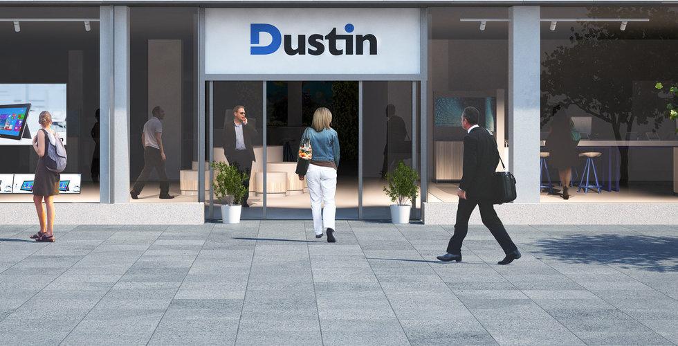 Dustin tar 25 miljoner kronor i engångskostnad för effektivisering – ska ge besparing på 40 miljoner per år