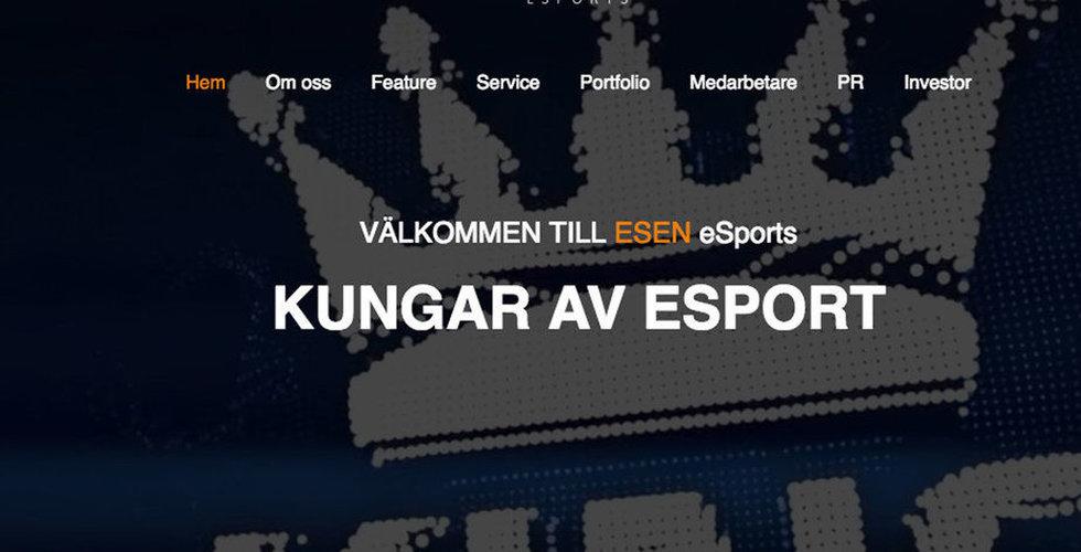 Breakit - ESEN eSports ökar intäkterna men förlusten steg i fjärde kvartalet