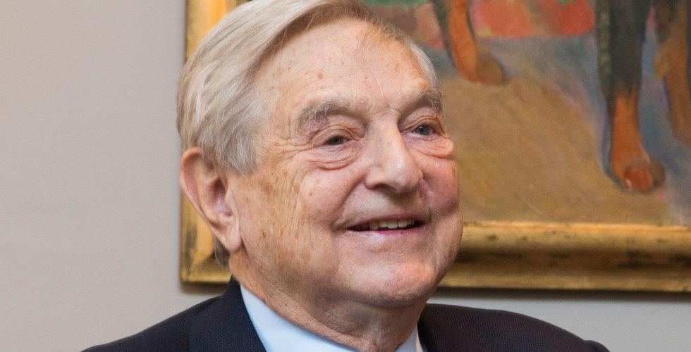 Breakit - George Soros dumpar Facebook – satsar i Amazon och Microsoft