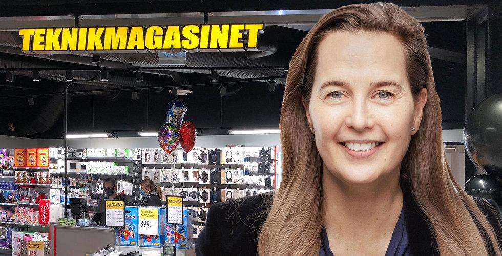 Krisande Ambia säljer Teknikmagasinet