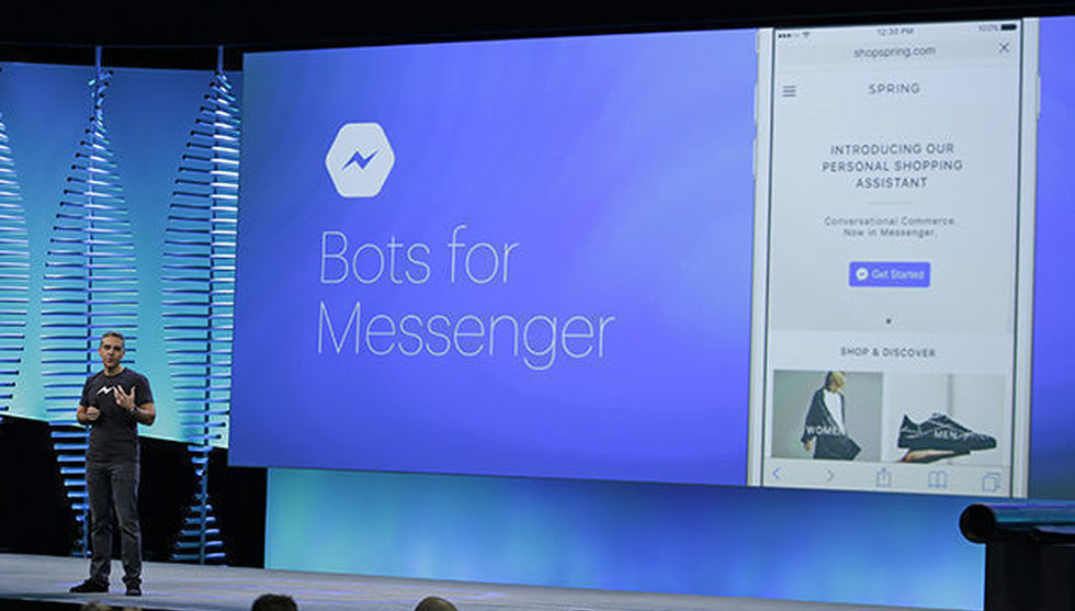 Breakit - Nu ska Facebook låta användare handla direkt hos chattbotar