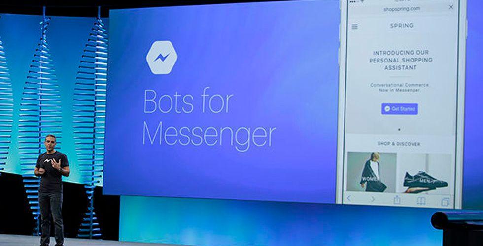 Nu ska Facebook låta användare handla direkt hos chattbotar