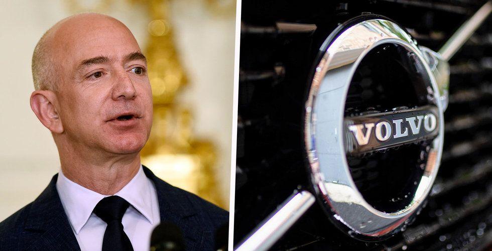 Volvo bygger Amazon-märkta lastbilar
