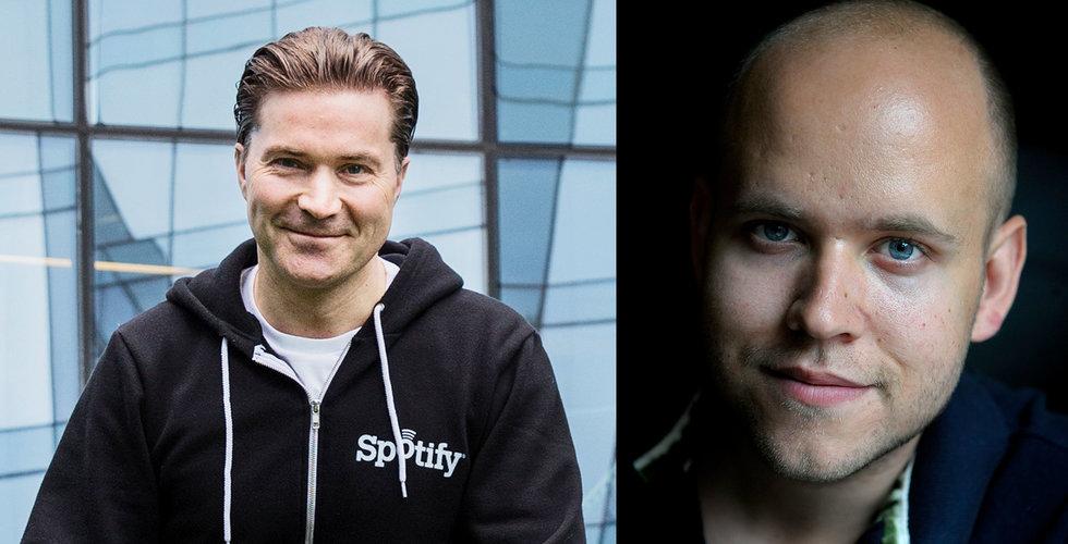 Spotify-grundarna kan sälja aktier vid noteringen – för 40 miljarder