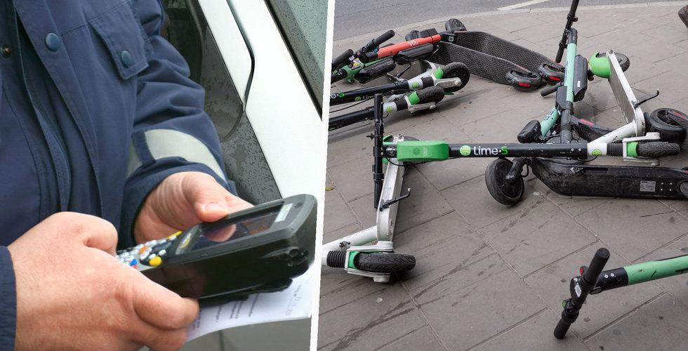 Klart: Böter för felparkerade elsparkcyklar – men det blir inte du som betalar
