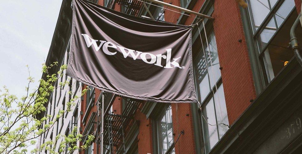 Wework skjuter upp börsnoteringen