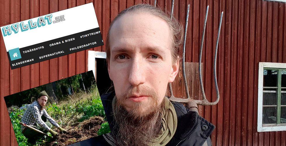 Daniel Sjöberg gick i bräschen med sin viralsajt – men han hatar clickbait