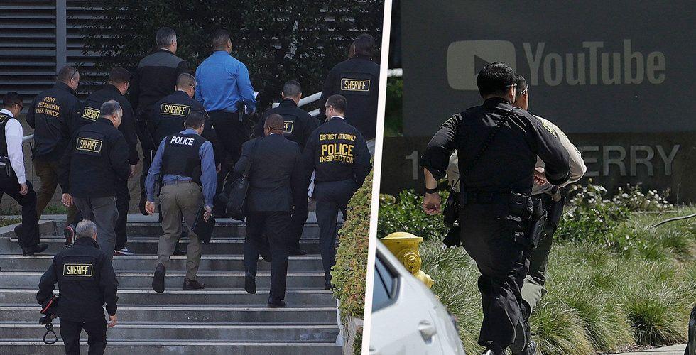 Skottlossning på Youtubes högkvarter i Silicon Valley – flera skadade