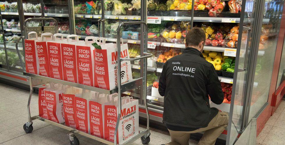 Ica rullar ut sin expresstjänst – med mat inom en timme