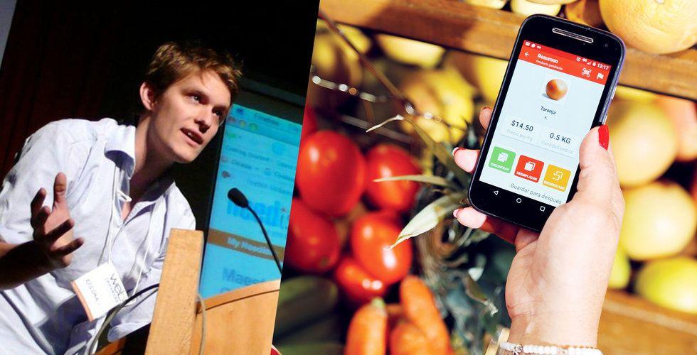 Breakit - Svenske Oskar Hjertonsson får in 185 miljoner till mat-appen Cornershop