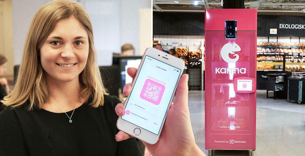 Karma och Electrolux lanserar smart kylskåp för att minska matsvinn