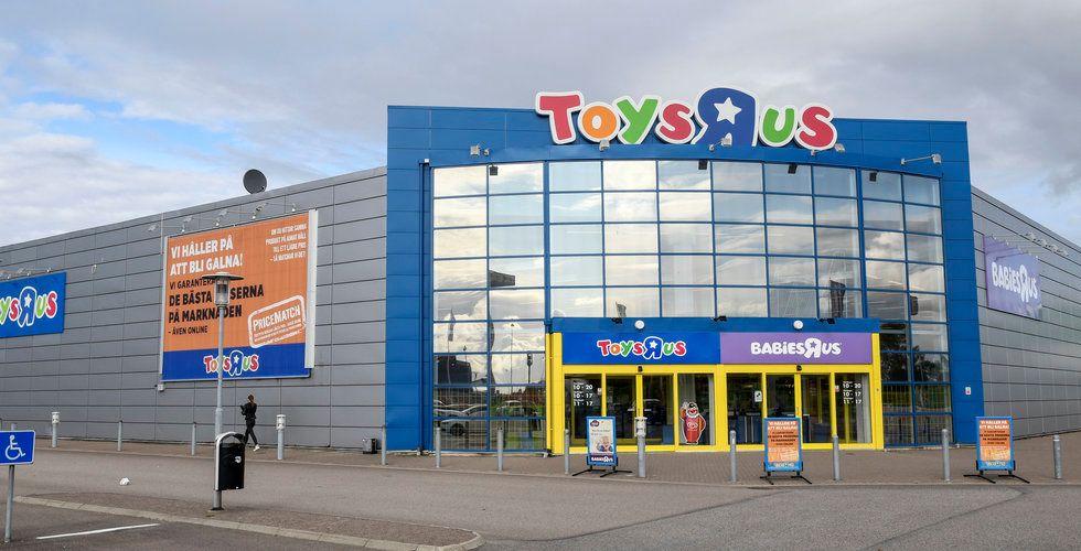 Toys R Us planerar för likvidation – knäckta av e-handeln