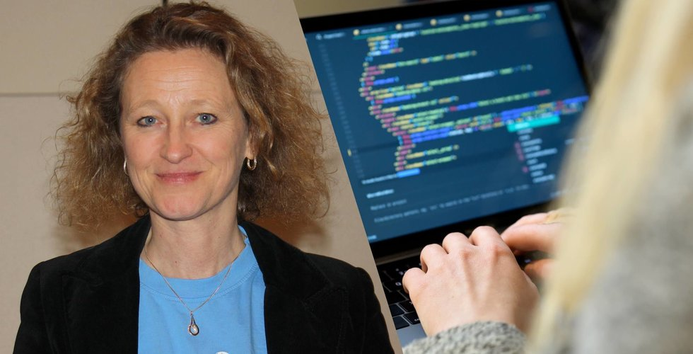 Cristina Stenbeck backar hennes programmeringssatsning