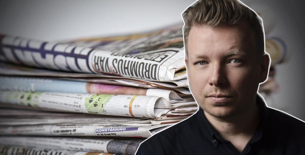 Helt rätt att slopa presstödet – mediehusen är de värsta bidragsfuskarna