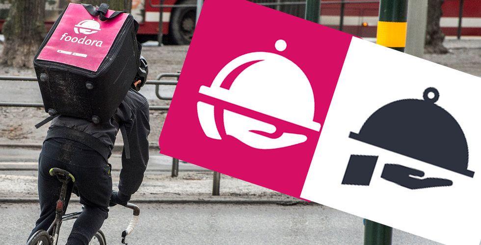 Svenska Waitress i tvist med Foodora – fick betalt för att byta logga