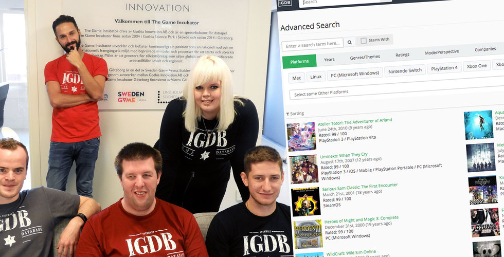 Giganten Twitch köper svenska IGDB
