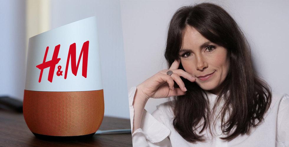 Breakit - H&M tar hjälp av Googles röstassistent i kampen om kunderna