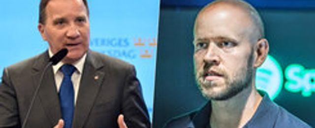"""Daniel Ek och Stefan Löfven i upprop: """"Sverige är redo för OS"""""""
