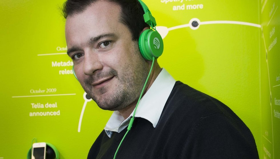 Top manager Jonathan Forster leaves Spotify - after ten years