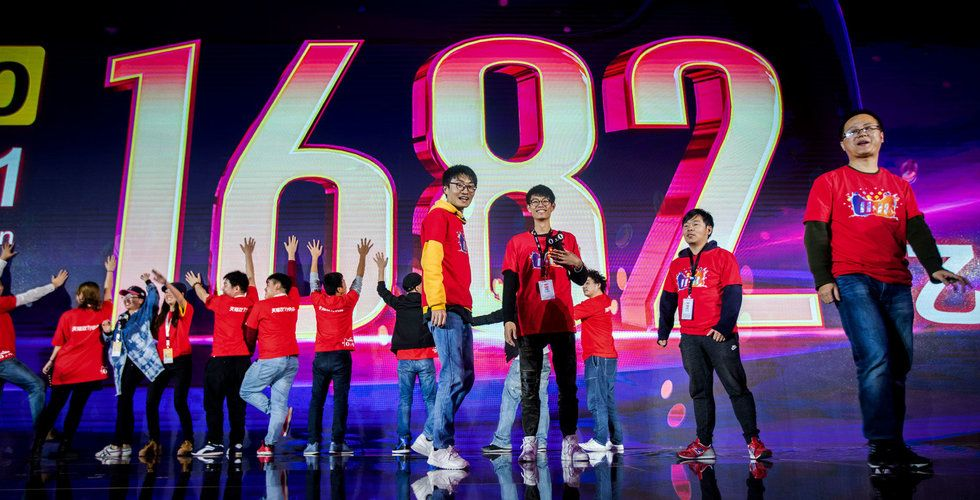 Breakit - Alibaba slog rekord under Singles Day