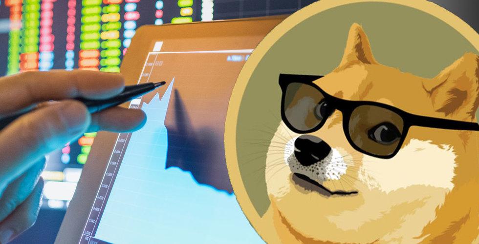 Skämtvalutan Dogecoin drar 300 procent på en vecka – nu värt 39 miljarder dollar