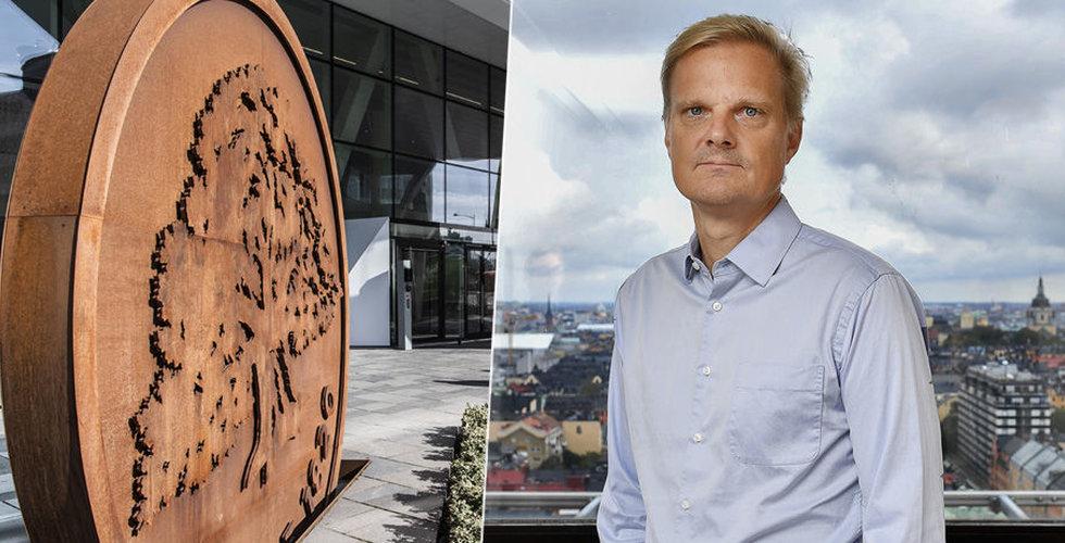 Jens Henriksson blir ny vd för Swedbank
