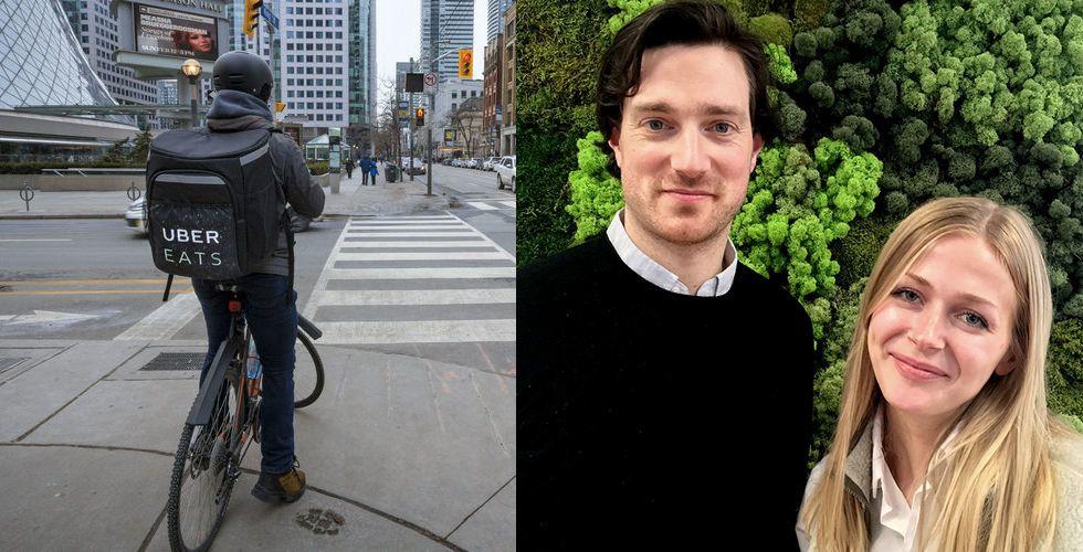 Så mycket tjänar Uber Eats cykelbud 2018