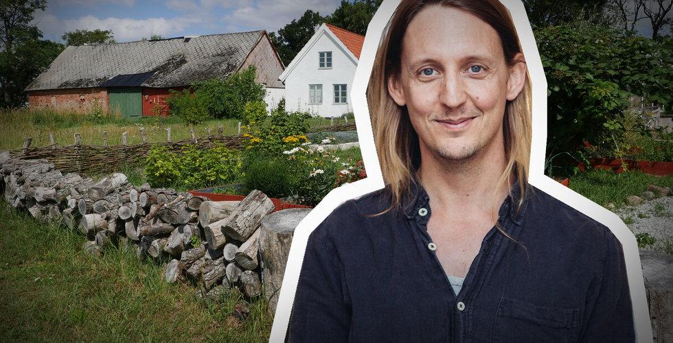 Filip Johansson grundade Gardenr – när han lämnat tech-livet