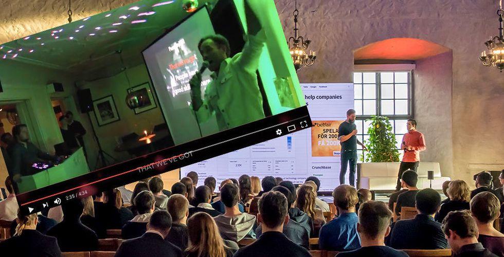 Video: Så här har du nog aldrig hört en startup-pitch förut