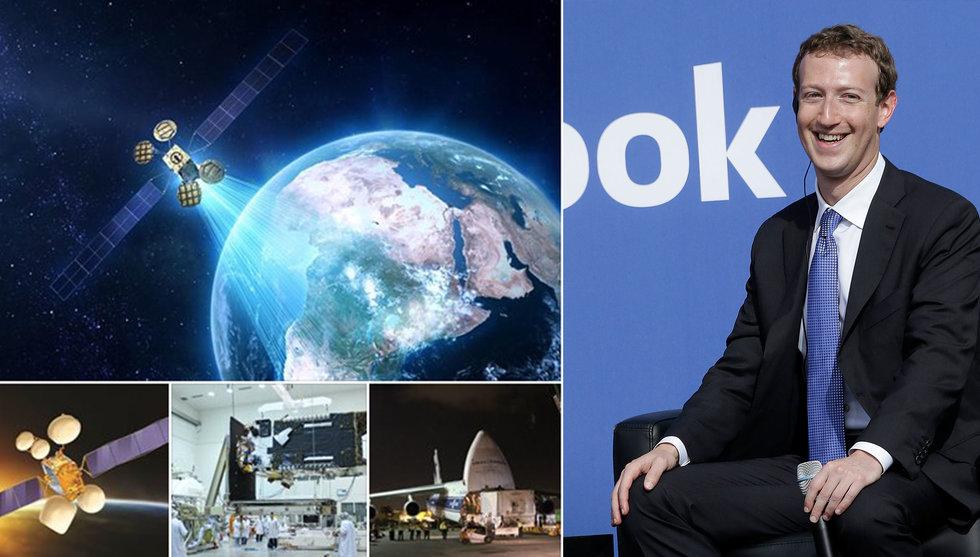 Breakit - Zuckerberg skickar ut satellit i rymden – ger gratis wifi till Afrika