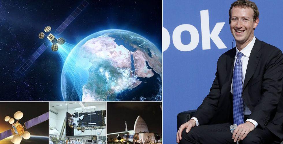 Zuckerberg skickar ut satellit i rymden – ger gratis wifi till Afrika