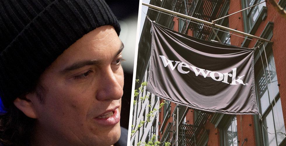 Adam Neumann lämnar vd-posten i Wework