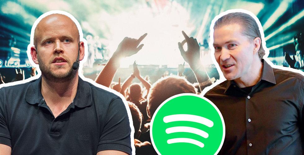 Glädjebesked från Spotify – oväntat låg förlust
