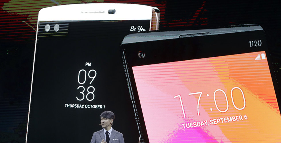 Breakit - Trubbel för LG – nya telefonen dröjer