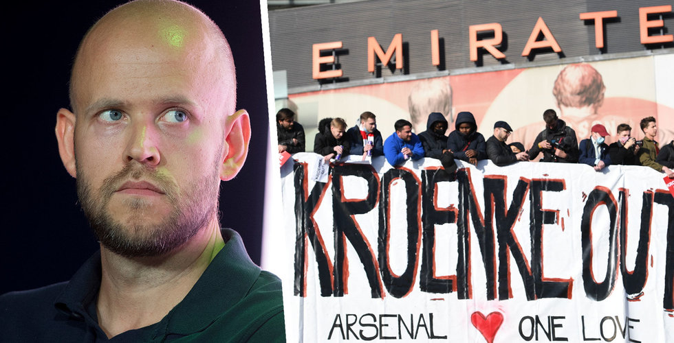 Daniel Ek talar ut om Arsenal: Har säkrat pengarna – ett erbjudande ligger på bordet
