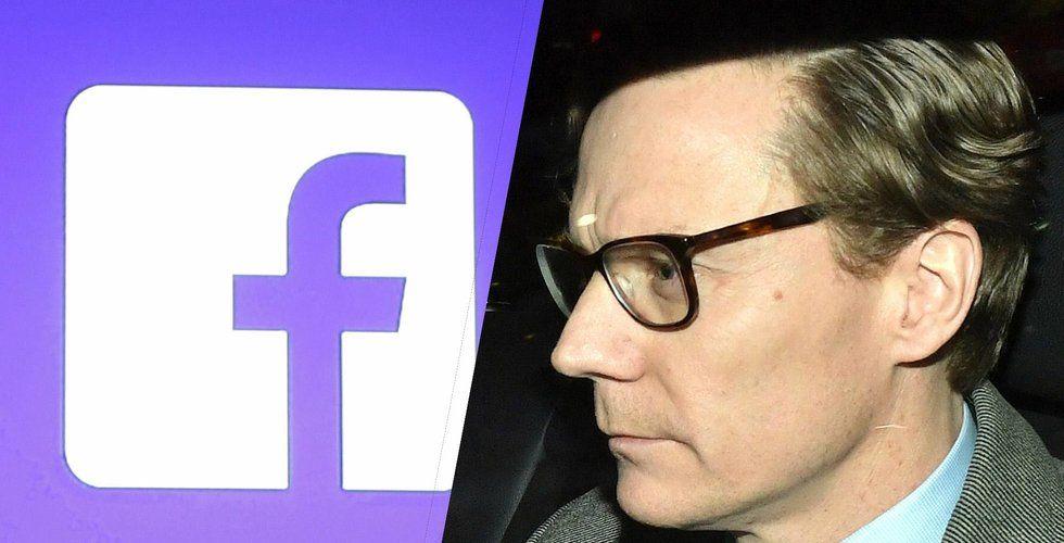 Vd på Cambridge Analytica sparkas efter Facebookskandalen