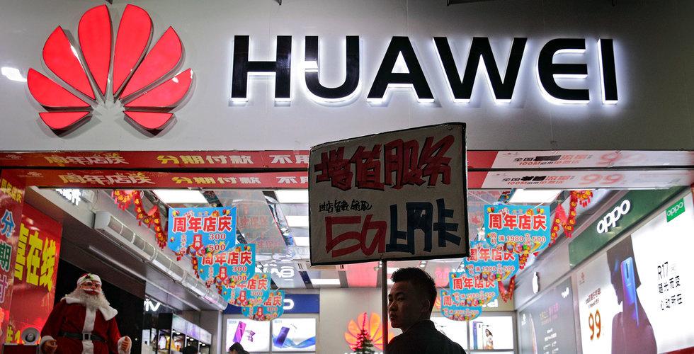 Huawei har säkrat 46 5G-kontrakt – något mer än Nokia