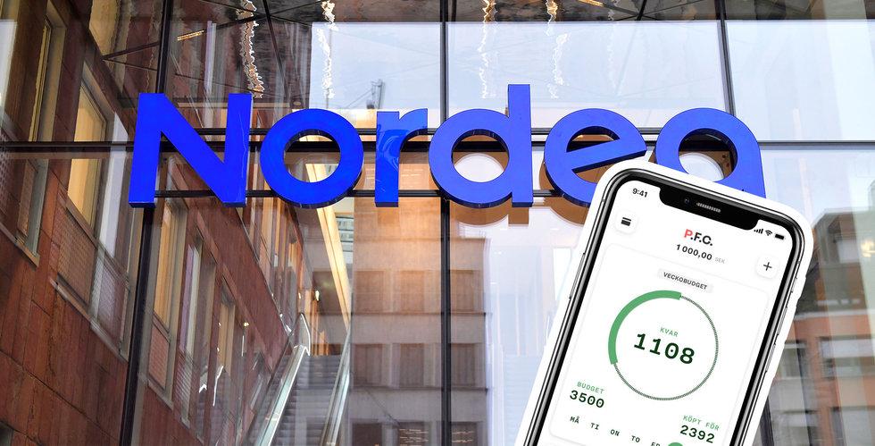 Nordea investerar i mobilbanken PFC
