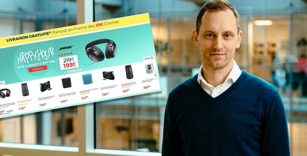Franska e-handelsjätten Cdiscount lanserar i Sverige – genom Cdon