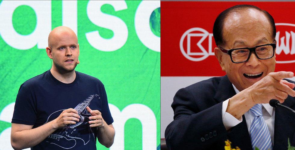 Ka-Shing! Nu cashar Spotifys storägare in 15 miljarder