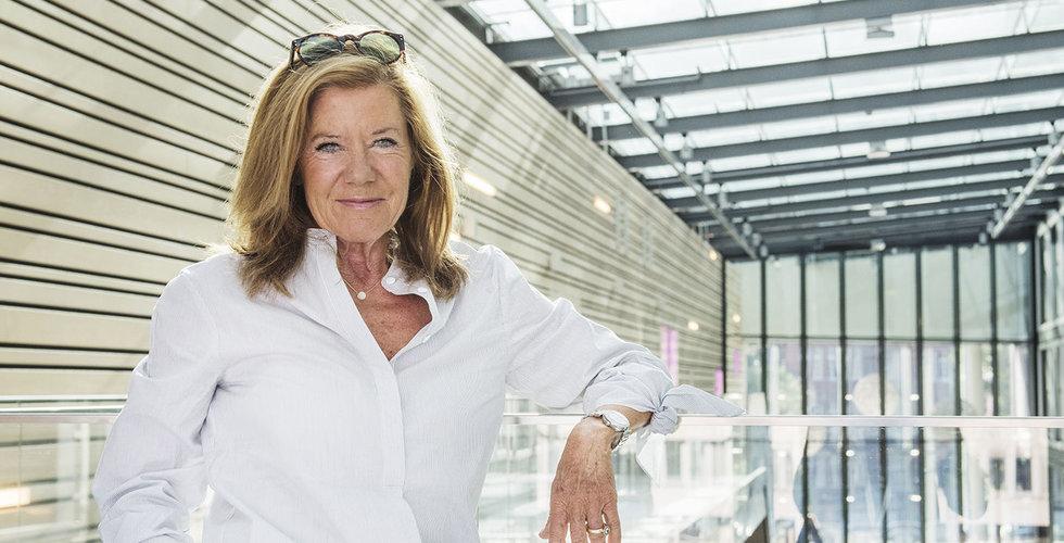 Lena Apler tankar aktier för miljoner i egna bolaget