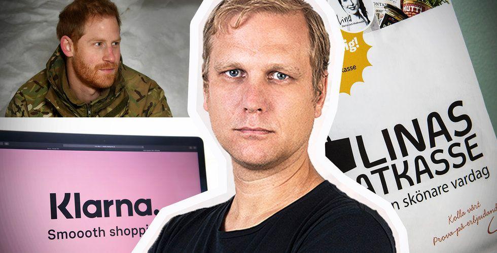 Bakslag för Linas IPO, orsaken till Klarna-Sebastians PR-räd och doldisens miljardklipp