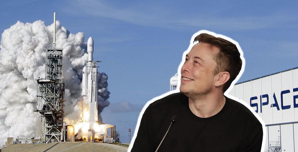 Spacex går om Tesla – nu värt över 300 miljarder