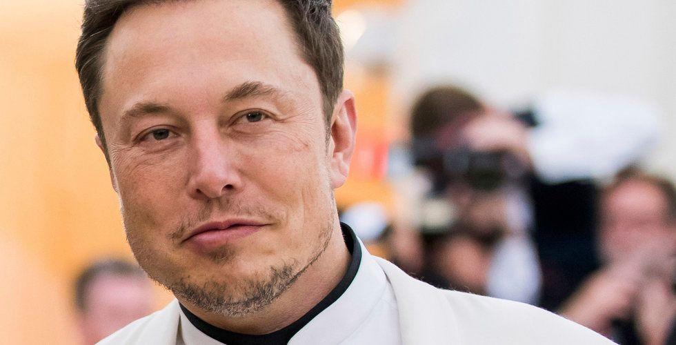 Elon Musk uppger att saudierna stödjer en privatisering av Tesla