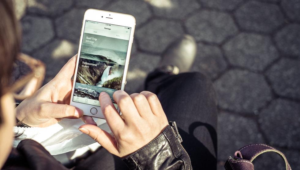 Nu ska svenska appen Qapital få amerikanerna att börja spara