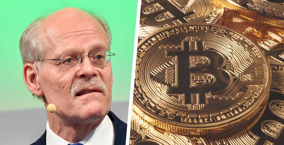 Stefan Ingves om bitcoin: Det är som att investera i frimärken