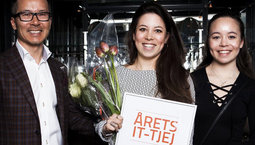 Elin Bäcklund har utsetts till Årets IT-tjej 2016 av Microsoft