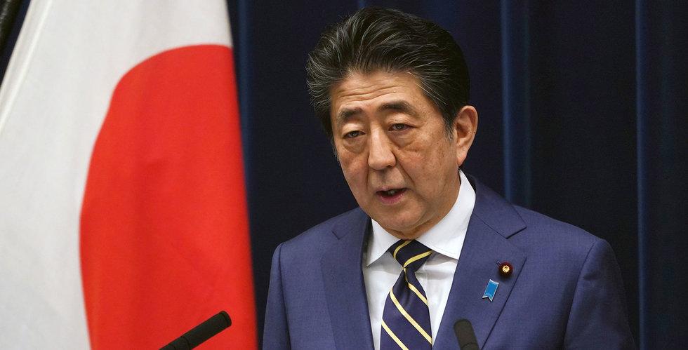"""Japan ska ta fram """"enastående"""" stimulanspaket – för hushåll och företag"""