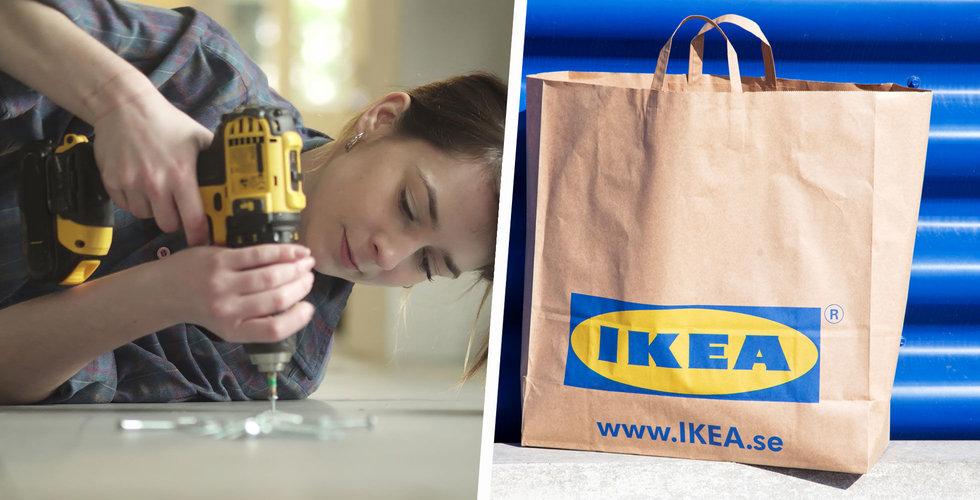 Ikea ökar tempot – ska både skruva ihop och laga dina möbler