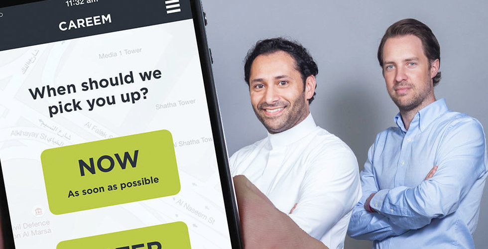 Svenskgrundade taxiapptjänsten gör comeback i Oman
